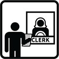 File with Clerk
